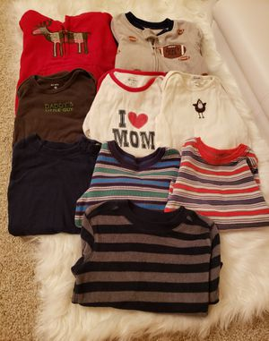 Baby boy 18 months warm sleeper and long sleeve bundle for Sale in Jersey City, NJ