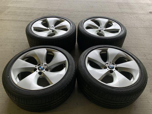 Bmw rims X3 X5 X6 Sz 20 oem wheels staggered