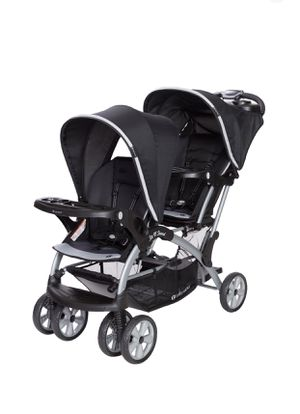 Baby trend Sit N' Stand Double Stroller- Optic Gray for Sale in The Bronx, NY