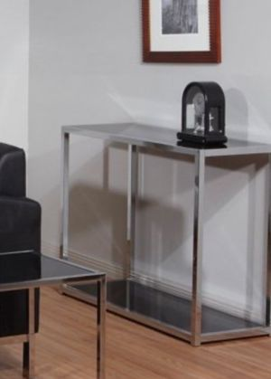 New!! Table, side table, chrome and glass table, console , lamp table, decorative table, entrance furniture, living room furniture, entrance table for Sale in Phoenix, AZ
