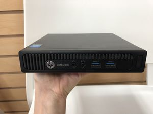 HP Elitedesk 800 G1 mini desktop computer for Sale in Renton, WA