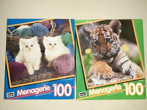 2 100 piece puzzles for Sale in Cary, NC
