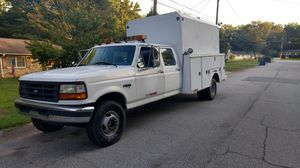 1997 Ford F450 Enclosed Utility Body KUV 7.3 TurboDiesel for Sale in Tucker, GA