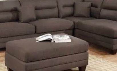 New Brown Sectional Couch / free Delivery for Sale in Long Beach,  CA