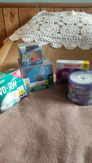 Whole lot of dvd-r and cd-r discs and casses for Sale in Pueblo, CO