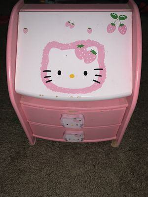 Hello kitty kids drawer for Sale in New Port Richey, FL