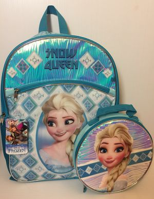 NEW Frozen Backpack & Lunch Bag set! for Sale in Green Bay, WI
