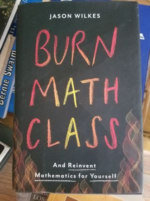 Burn Math Class: And Reinvent Mathematics for Yourself for Sale in Parkersburg, WV
