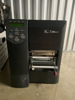 Zebra Z4mplus business barcode printer - used/in excellent condition for Sale in Hillsborough, CA