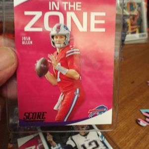 Buffalo Bills Josh Allen Insert Card for Sale in Modesto, CA