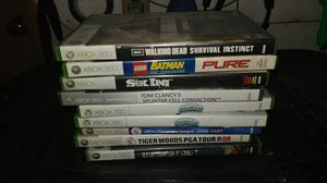 Xbox 360 game lot (9 games) for Sale in Ligonier, PA