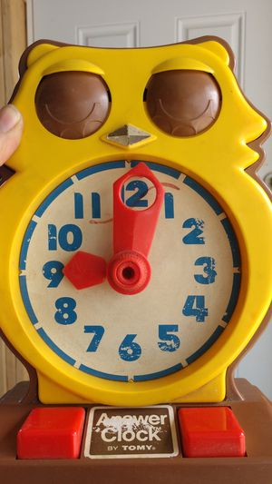 Vintage Tommy answer clock for Sale in Brooktondale, NY