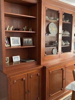 Vintage Breakfront: China Cabinet / Bookcase for Sale in Gaithersburg,  MD