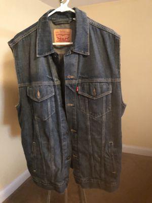 Levi's Jean Vest for Sale in Silver Spring, MD