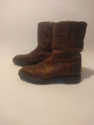 Rielero leather cowboy style boots for Sale in Cleveland, OH