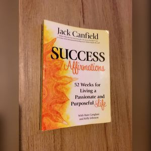 Success Affirmations Book Jack Canfield for Sale in Virginia Beach, VA