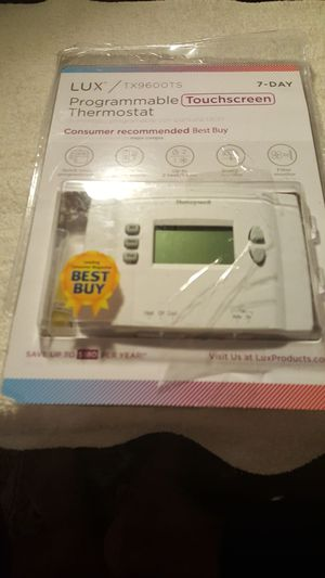 Lux thermostat for Sale in Newport News, VA