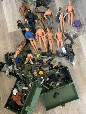 GI joe Action Figure Huge Lot and accessories for Sale in Santa Ana, CA