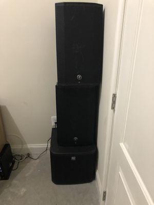 """2 12"""" 1000 watt Mackie Speakers for Sale in Baltimore, MD"""