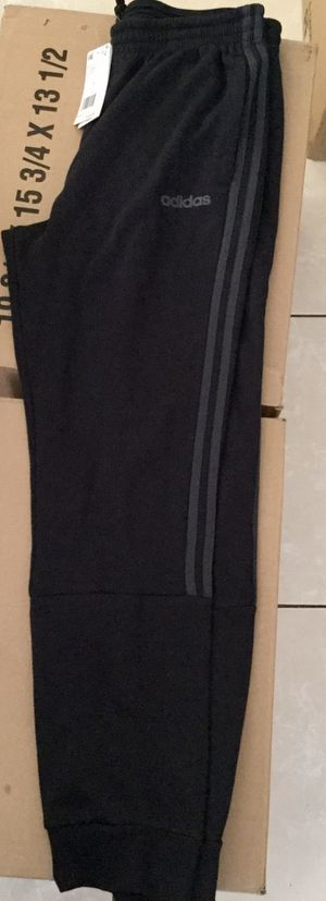 Black and gray striped Adidas Pants for Sale in Long Beach, CA