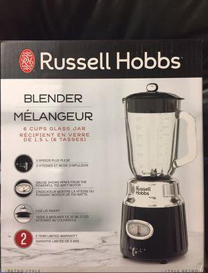 Retro Style 6-Cup Blender | Black - Brand New for Sale in Hudson, FL
