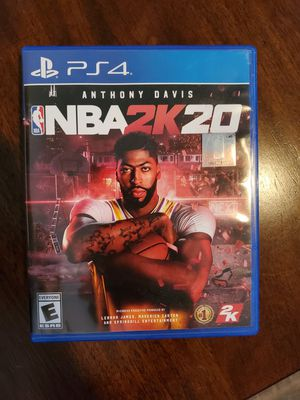 2k20 Ps4 New Condition for Sale in Fresno, CA