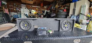 Pioneer radio and Kicker subwoofers for Sale in Lake Villa, IL