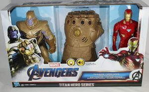 Marvel Avengers Thanos And The Iron Man Figures With Sound for Sale in Baltimore, MD