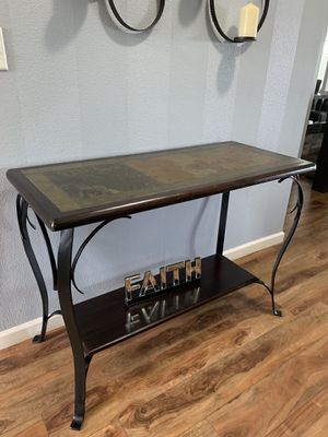 "Pier1 Metal /Tile Enter / Sofa Table !!! 20"" D 31"" H 46"" W for Sale in Vancouver, WA"