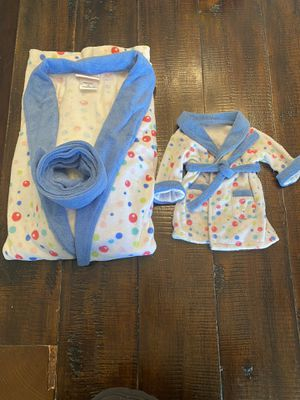 Matching robes for doll and kid, American girl doll for Sale in Aliso Viejo, CA