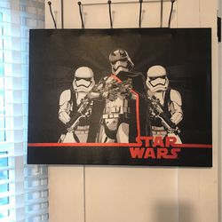 Star Wars Posted On Canvas for Sale in Corona,  CA