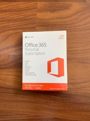 Office 365 Personal - 1 Year for Sale in Washington, DC