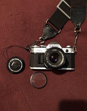 Canon AE-1 Camera w/ lens & filter for Sale in Olathe, KS