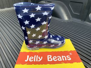 New Jelly Beans Kids Rain Boots Size 12 for Sale in Doral, FL