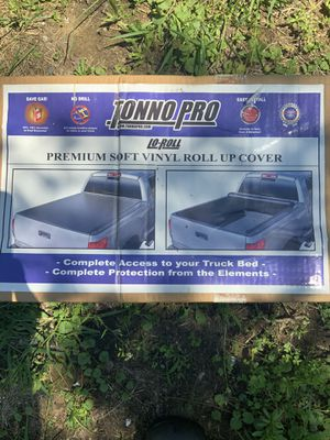 Tonno pro premium soft vinyl roll up cover for trucks for Sale in VT, US