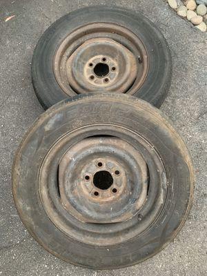 "Pair of 15"" steel wheels. Ford pattern. for Sale in La Mesa, CA"