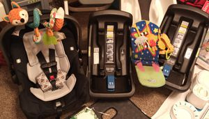 NUNA car seat bundle for Sale in Seekonk, MA