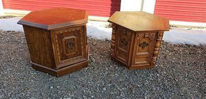 Pair of Octagon End Tables (If it's listed it is still available) for Sale in Amherst, OH