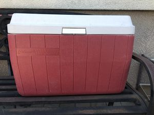 Red Coleman Cooler for Sale in Lathrop, CA