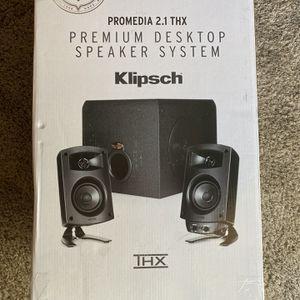 Klipsch Pro Media Computer Speakers for Sale in Fresno, CA