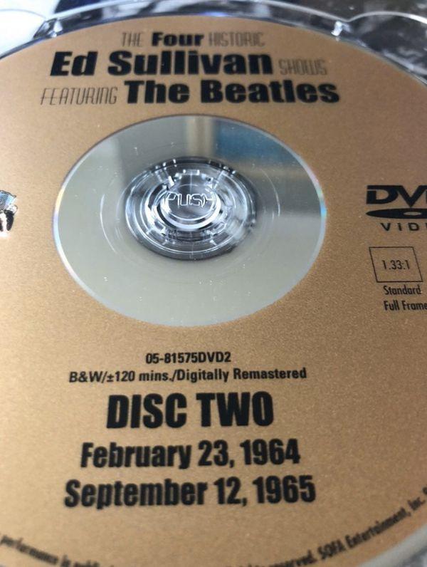 ED SULLIVAN BEATLES DVD BOX SET
