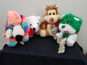 Vintage Circus Circus lot of 4 stuffed animals for Sale in Union City, CA