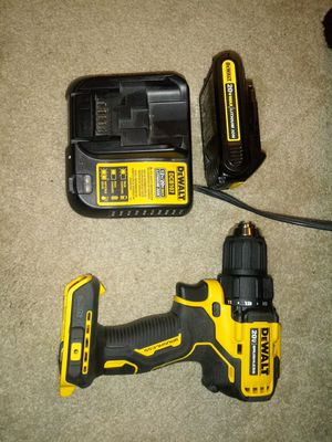 Dewalt drill w/ charger and Batt for Sale in Mendon, MA