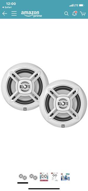 Brand new! Dual 6.5 waterproof boat speakers for Sale in San Diego, CA