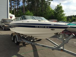 2003 Kayot z201 bowrider 20' boat 5.0L Volvo Pentax with trailer will trade for Sale in Westford, MA