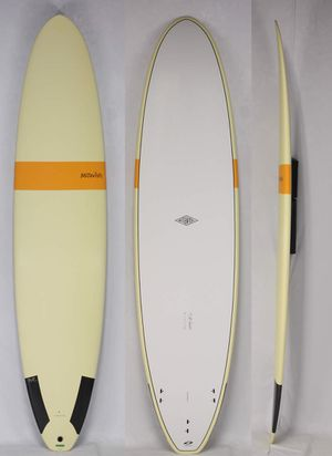 SURFBOARD LIKE NEW. McTavish Carver 8.1. Brand new fins, leash & pad for Sale in Plano, TX