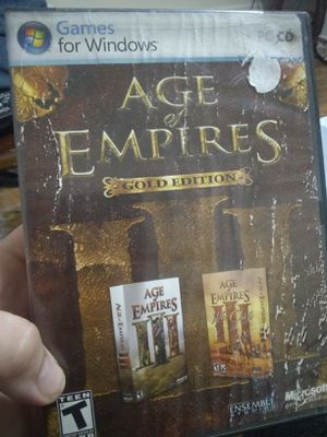 Age of empires 3 gold edition for Sale in Medina, NY
