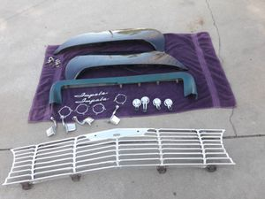 1961 1962 Chevy Impala parts read the ad for Sale in Rialto, CA