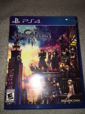 Kingdom Hearts 3 for PS4 for Sale in Pico Rivera, CA