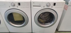 White LG Washer and Dryer Set for Sale in Littleton, CO